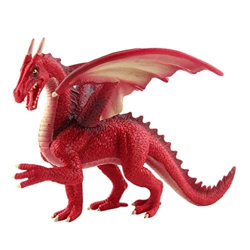 Mkcether Stone Dragons Toy Realistic Dinosaur Model Children's Great Educative Toys for Kids Imaginative Development Christmas Birthday Gift
