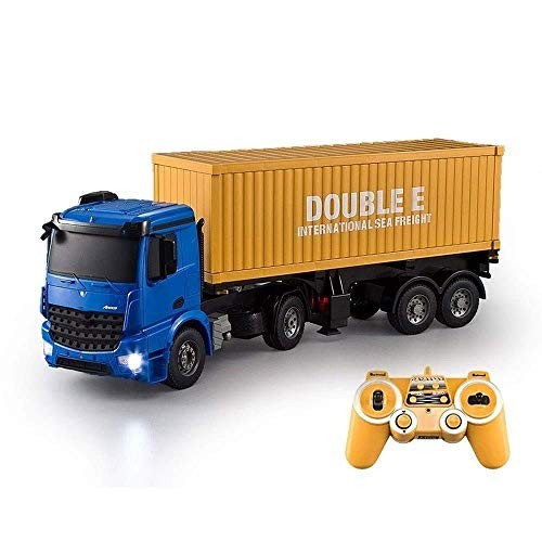 MECFIGH Simulation Engineering 24Ghz Racing Car Model Trucks Electric Four-Wheel Drive High Speed Remote Control Vehicles Crawlers for Children Adult Toy