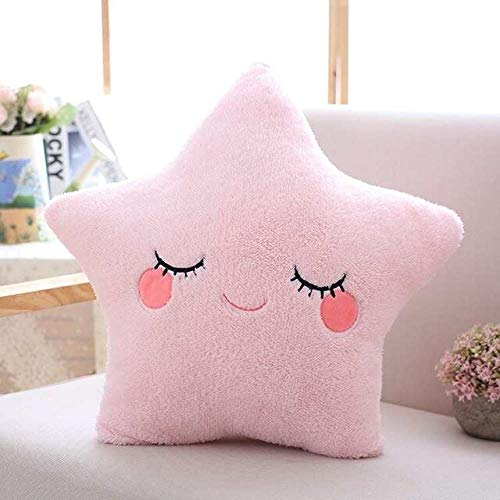 LAJKS 10 Color I Soft Stuffed Plush Pillow Smiley Face Cloud Moon Star Drop Gift for Girls Valentine Present Thing You Must Have 4 Year Old Gifts Toddler Favourite Superhero Coloring