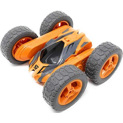 Sinovan Car Toys for 5-10 Year Old Boys RC Orange Stunt Car Off Road