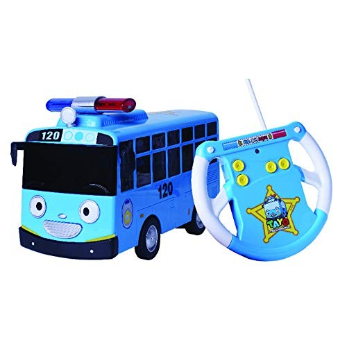 Tayo The Little Bus Police RC Car Wireless RC Car Toy Set Cars Remote