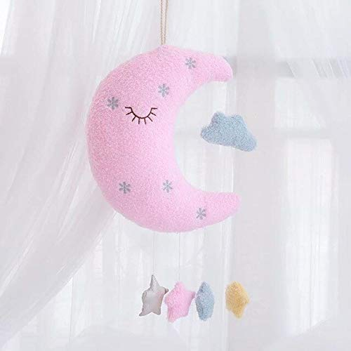 LAJKS Cloud Moon Plush Toy Home Decoration Accessories Pillow I Stuffed for Kids Birthday Gift Must Have Gifts 8 Year Old Girl My Favourite Superhero Coloring UNbox Switch