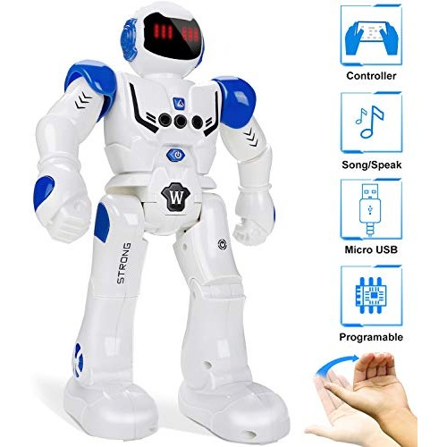 Remote Control Robots for Kids 2020 Smart Programmable Robot Toys – Infrared Sensing & Gesture Controller Singing Dancing Toy 3 11 12 Year Old Christmas Birthday Gift