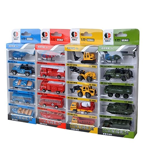 ACHICOO 5PCS Mini Simulation Alloy Construction Vehicles Model Toy Children Intellectual Engineering Car Excavators Gag Gifts for Kids