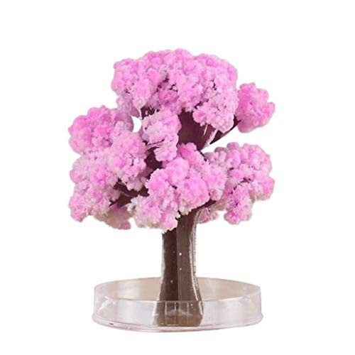 SiQing Christmas Tree Gift Magic Growing Paper Crystal Cherry Kids Toy Funny Novelty Educational Gifts