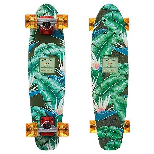 Globe Surf Glass Complete SkateboardWaikiki Black24 L x 6125 W – 14 WB