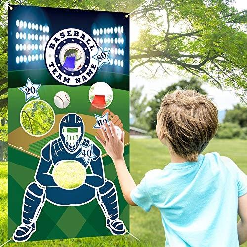 COPOZZ Baseball Toss Games with 3 Bean Bags Indoor Outdoor Bean Bag Game Sets