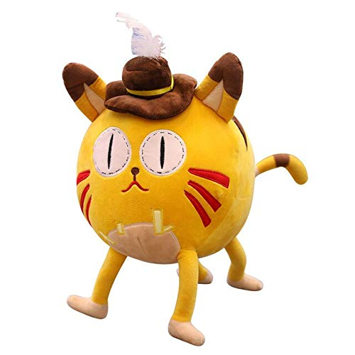 LAJKS 30 50Cm Game Figure I Cat Stuffed Plush Toys Cute Kitty Dolls for Children Room Decoration U Must Have 4 Year Old Gifts Girl S Favourite Superhero Coloring