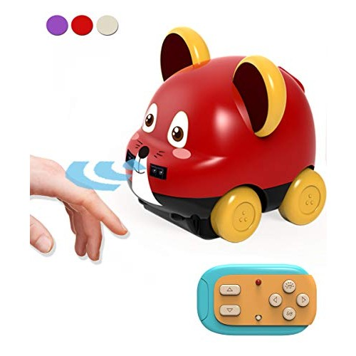 Powerbeast Toddler Toy Cars with Hand ControlAuto FollowObstacle AvoidanceRemote Control Car for Boys and