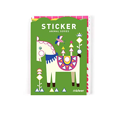 Mideer Sticker Book Craft Kit Animal Series