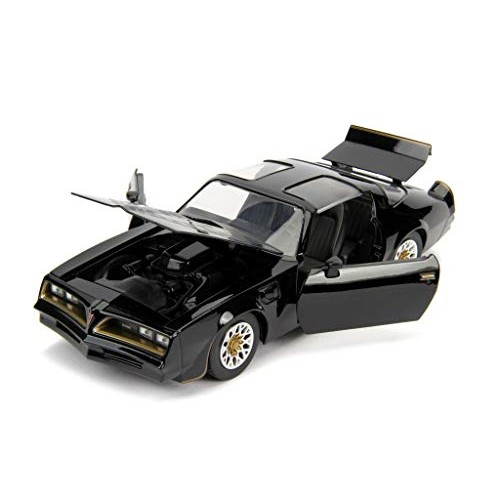Jada Toys Fast & Furious Movie Tegos 1977 Pontiac Firebird Black 1/24 Diecast Model