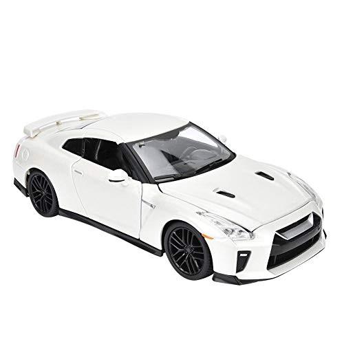 Model Car Toy BBURAGO 1:24 Simulation Alloy Sport Car Model for Nissan GTR with