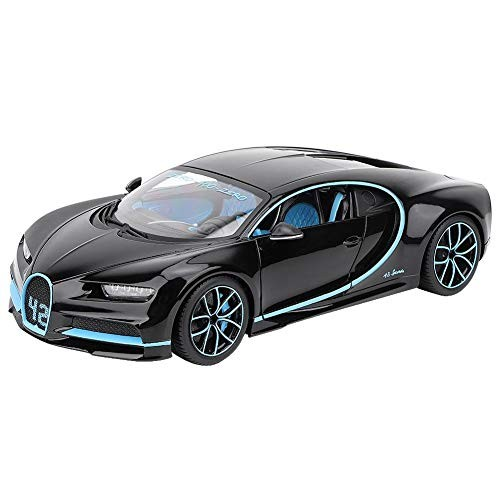 Woyisisi Racing Car Toy 1/18 Bugatti Chiron Alloy Vehicle Model for Gift Furniture Decoration