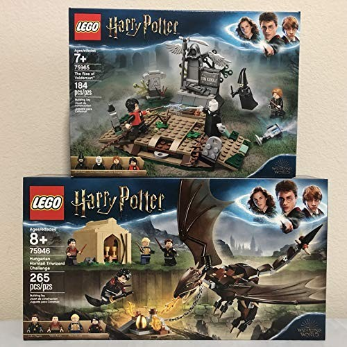 LEGO Harry Potter Hungarian Horntail Triwizard & The Rise of Voldemort