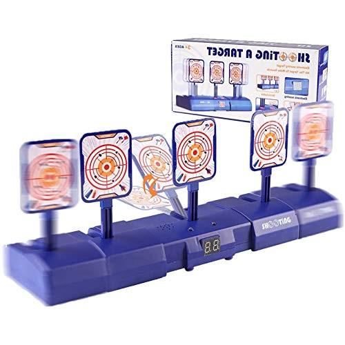 Greatstar Upgrade Electric Gun Shooting Target Movable Shooting Target Toy Game Electric Scoring Automatic