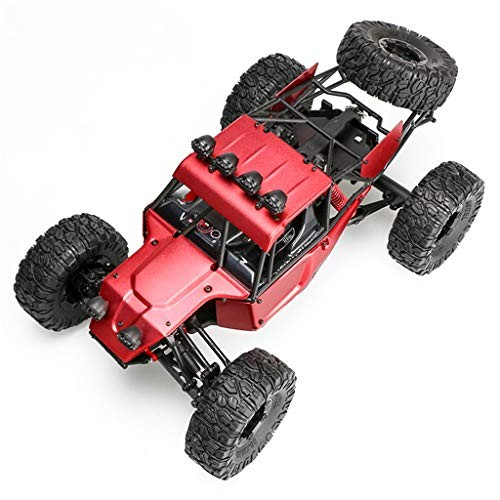 Maikouhai Upgrade FY-03H 1/12 RC 4WD Crawler Car Brushless Version Frame Body Chassis (red)