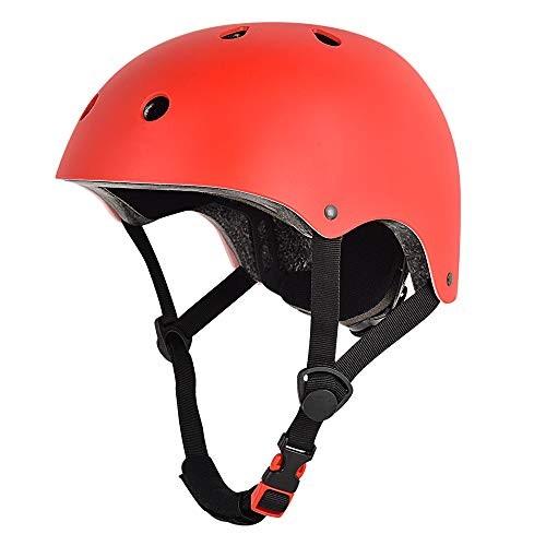 Nochicass Skateboard Helmet CPSC Certified Multi-Sport Bike Helmet from Toddler to Youth for Skate