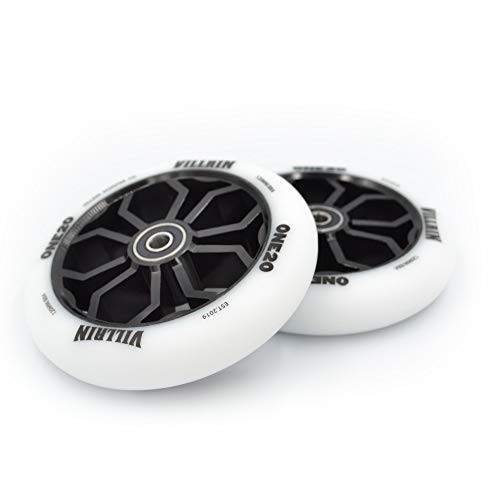 Villain One20 Scooter Wheels – Scooter Wheels 120mm Pair – Set of 2 –