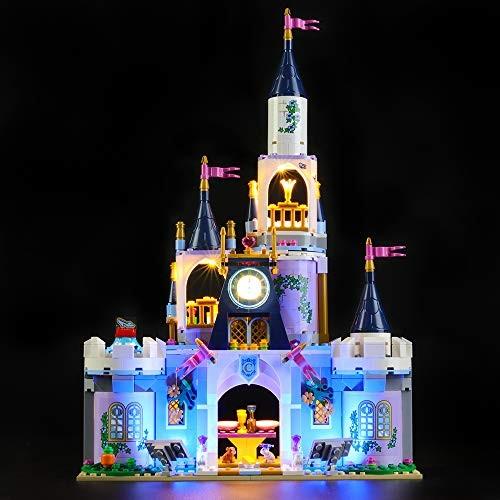 LIGHTAILING Light Set for Disney Princess Cinderellas Dream Castle Building Blocks Model – Led kit Compatible with Lego 41154 NOT Included The Model