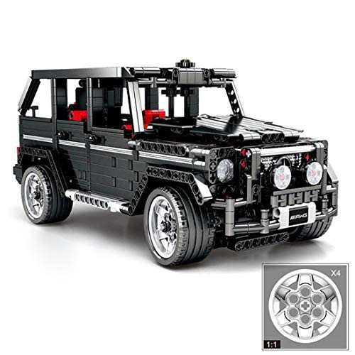 Wolfbush MOC Building Blocks 1343Pcs Static Off-Road Vehicle Kit and Engineering Toy Compatible with Major Brands