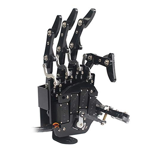 Robot Hand Five Fingers Soley Movement Bionic Mechanical Arm DIYRight