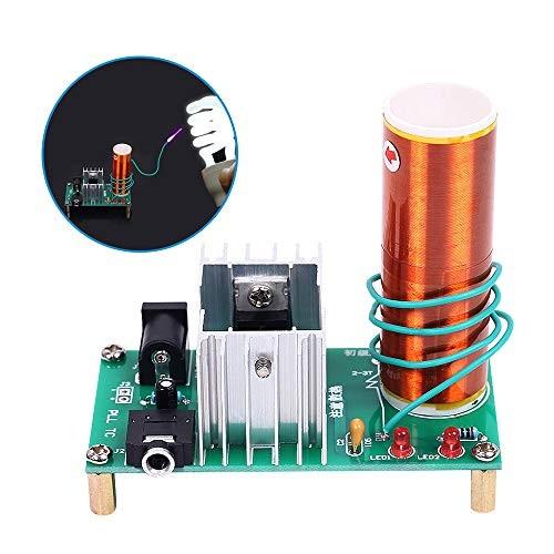 YEMIUGO Mini Tesla Coil DIY Kit DC 15-24V 15W Music Plasma Speaker Electronic Arc Scientific Toy