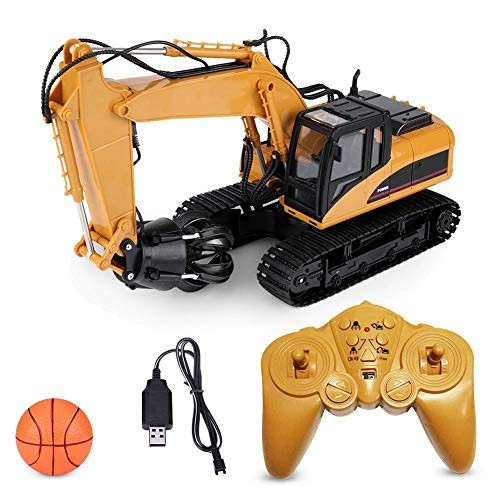 ZJchao RC Engineering Vehicle 1 14 24G 16 Channels Electric Truck Remote Control Model Grabber Car