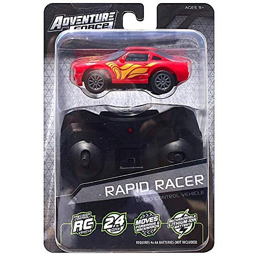 Adventure Force Red Rapid Racer Car 24 GHZ Micro