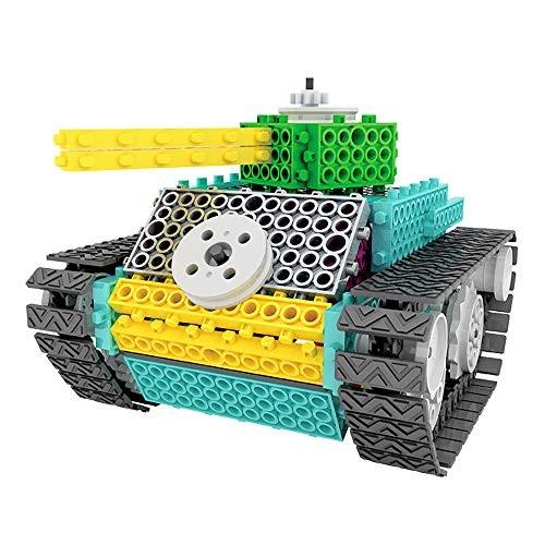IAMGlobal Robotic Kit Remote Control Tank Building Blocks Robot STEM Toy Bricks Machine Educational Learning Kits for Tank Kit