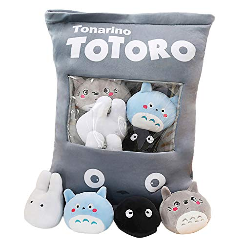 Chengbao Cute Throw Pillow Stuffed Strawberry Toys Removable Fluffy Kawaii Kitty Cat Plush Snack Pudding Decorative Animal Dolls Bed Couch Creative Toy Gifts Teens Girls Kids