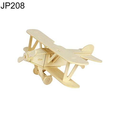 LC-Toys 3D Animal Wooden Assembly Building Block Puzzle Brain Teaser Kids Educational Toy – JP208