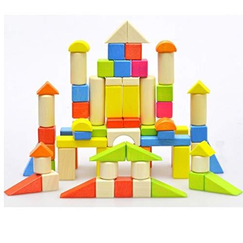 Llsdls Wooden Building Blocks Sets Educational Toys
