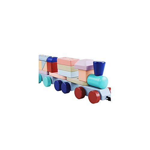 Llsdls Large Wooden Building Blocks-Kids Toys-Wooden Stacking Games -Stacking Toys