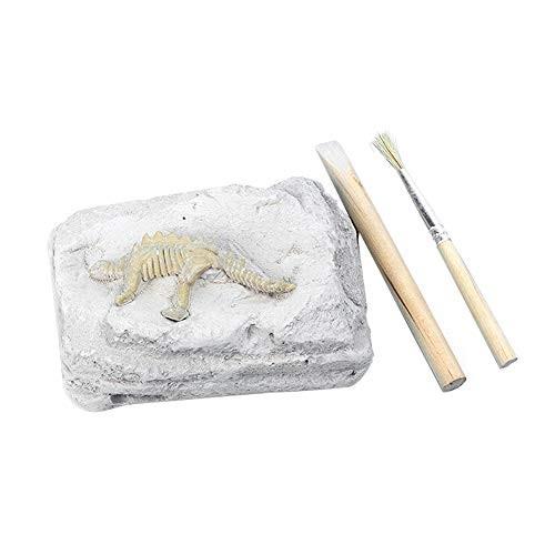 DIY Handmade Dinosaur Digging Fossil Excavation Model Science Education Toy for Children Toddlers Boys Girls