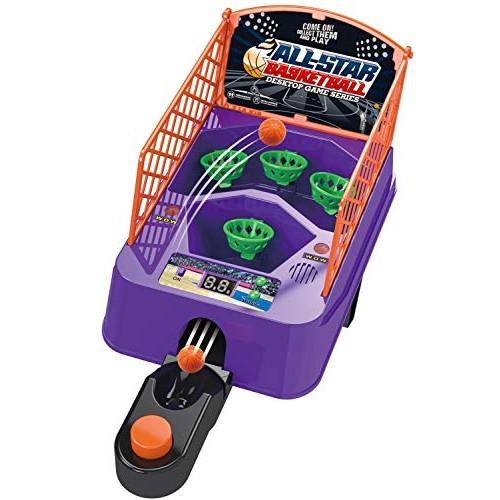 Toy Pal Desktop Arcade Basketball Game – Tabletop Mini Basketball Shooting Game for Kids