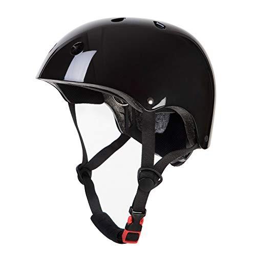 OUWOR Adult Skateboard Helmet for Men and Women CPSC Certified Lightweight Adjustable Multi-Sport for