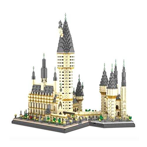 JMFHCD Assembling Building Blocks Mini Castle Micro Diamond Granule Child Construction Educational Bricks DIY Boy and Girl Kids Gifts