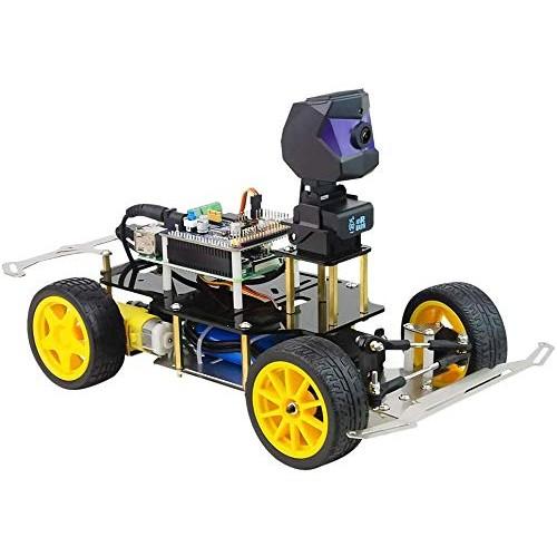 xiaoR Geek Donkey Car Starter Kit Open Source DIY Self Driving Platform for Small Scale Cars Raspberry Pi Robot