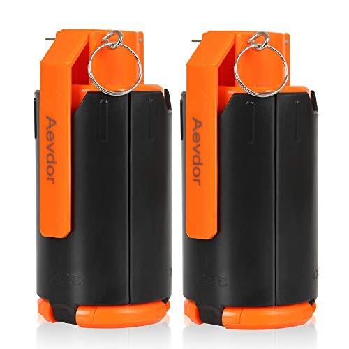 Aevdor CS-Grenade Set 2Pcs Plastic Toy-Grenade for CS Nerf Rival Battle Game