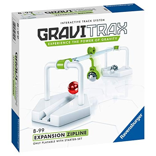 Ravensburger GraviTrax Zipline Accessory – Marble Run and STEM Toy for Age 8 Up Expansion 2019 of The Year Finalist