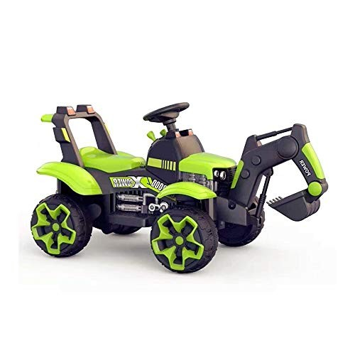SYxx Rc Cars for Kids Can Ride On Children's Excavators 3-6 Year Old Boys' Electric Toys Oversized Four-Wheel Charging Engineering Vehicles Boys and Girls Gifts Children