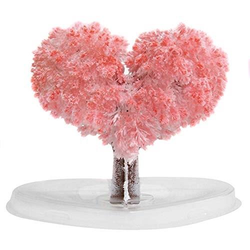 Magic Growing Tree Paper Sakura Crystal Trees Desktop Cherry Blossom Toys DIY Christmas Decoration Kids Creative Birthday Gift Novelty Gifts