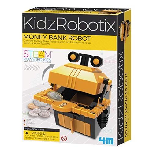 4M Money Bank Robot DIY KidzRobotics STEAM Science Kit