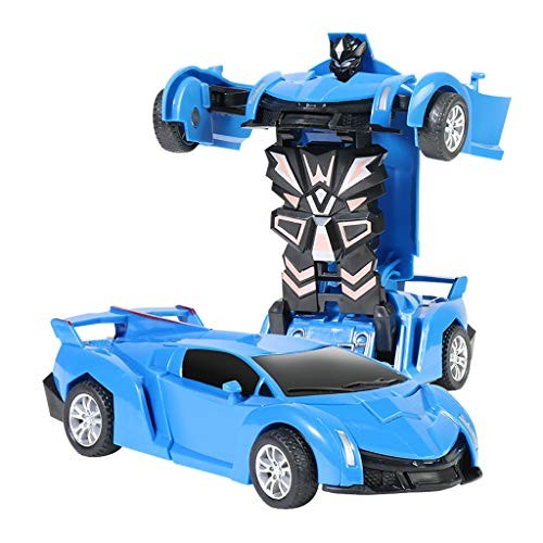 1:32 Scale Children Deformation Car Pull Back Children Toy Mini Manual Collision Deformation Car