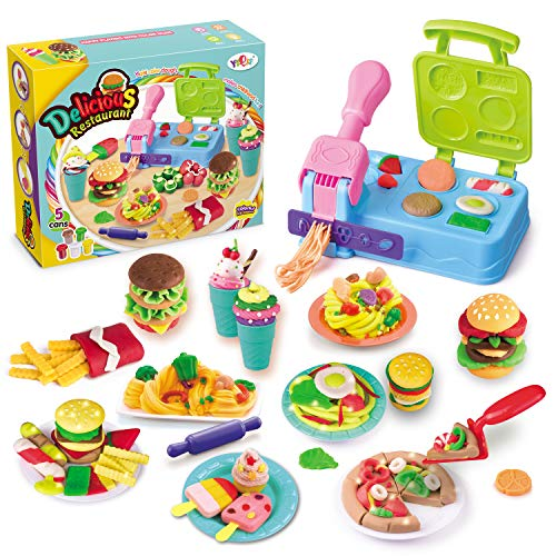 Pony Toy Playdough Kitchen Creations for KidsBurger Barbecue Set Boys and Girls