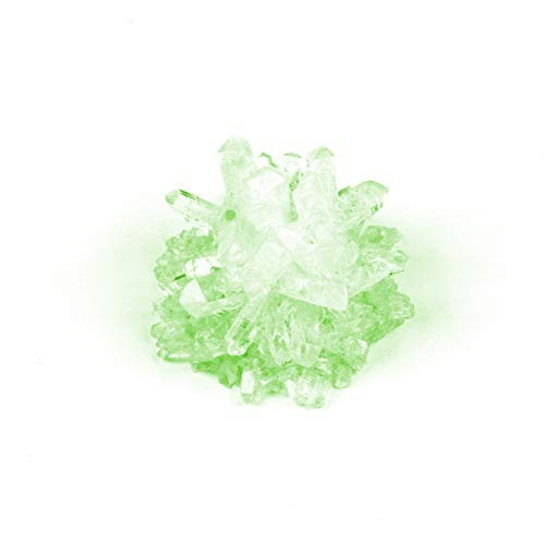HotMall-US Preschool Toy DIY Faux Crystal Growing Kit Crafts Science Experiment Students Educational Green