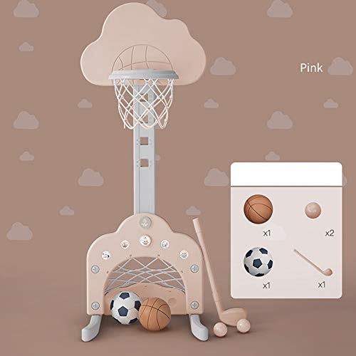 SONGYU Basketball Hoops Kids Adjustable 109-149cm Portable Basketball Stand Indoor Outdoor Play Sports Ball