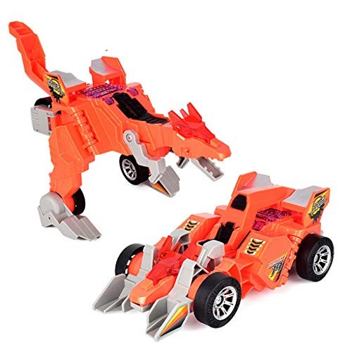 CZYCO Electric Omnidirectional Deformation Dinosaur Chariots With Music Light Toy Gift
