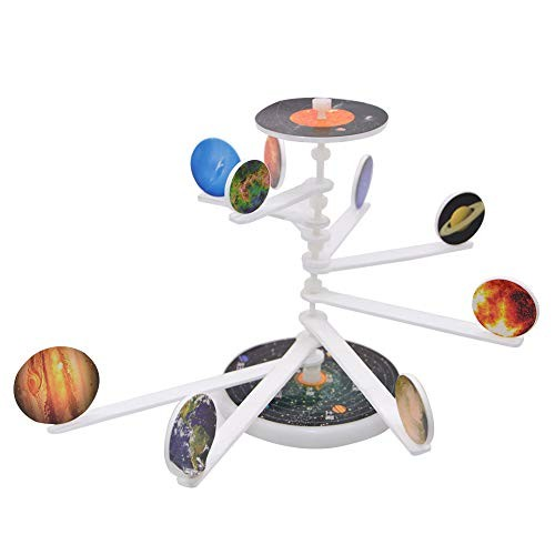 smallwoodi 9 Planets Toy Model DIY Solar System Major Students School Experiment Project Birthday Gift