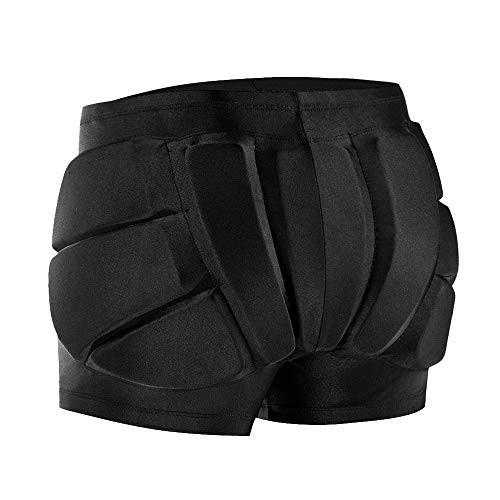 WOSAWE Adult Protective EVA Padded Shorts Hips Tailbone Protector Skating Skiing Impact Pad X-Large